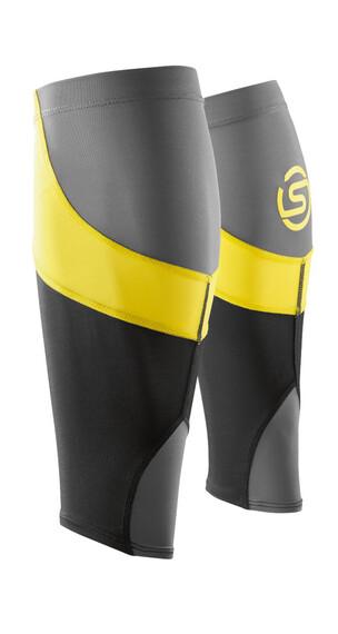 Skins Essentials warmers MX geel/zwart